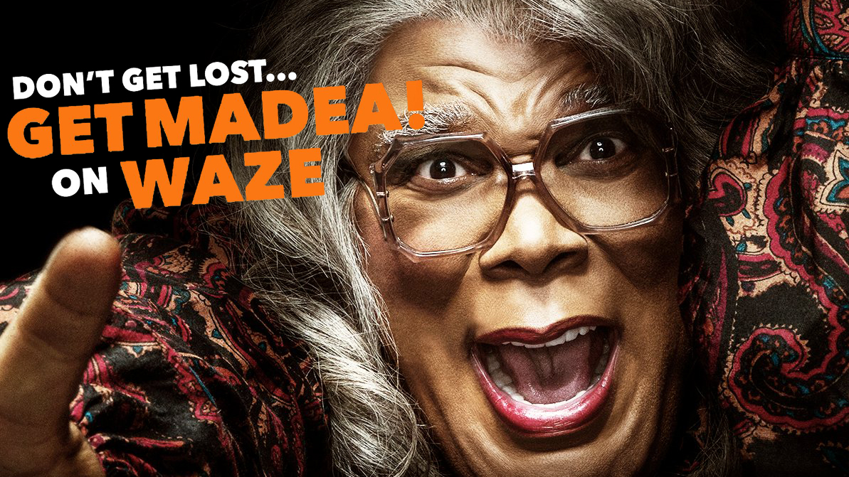 Tyler Perry » Madea is your new GPS voice