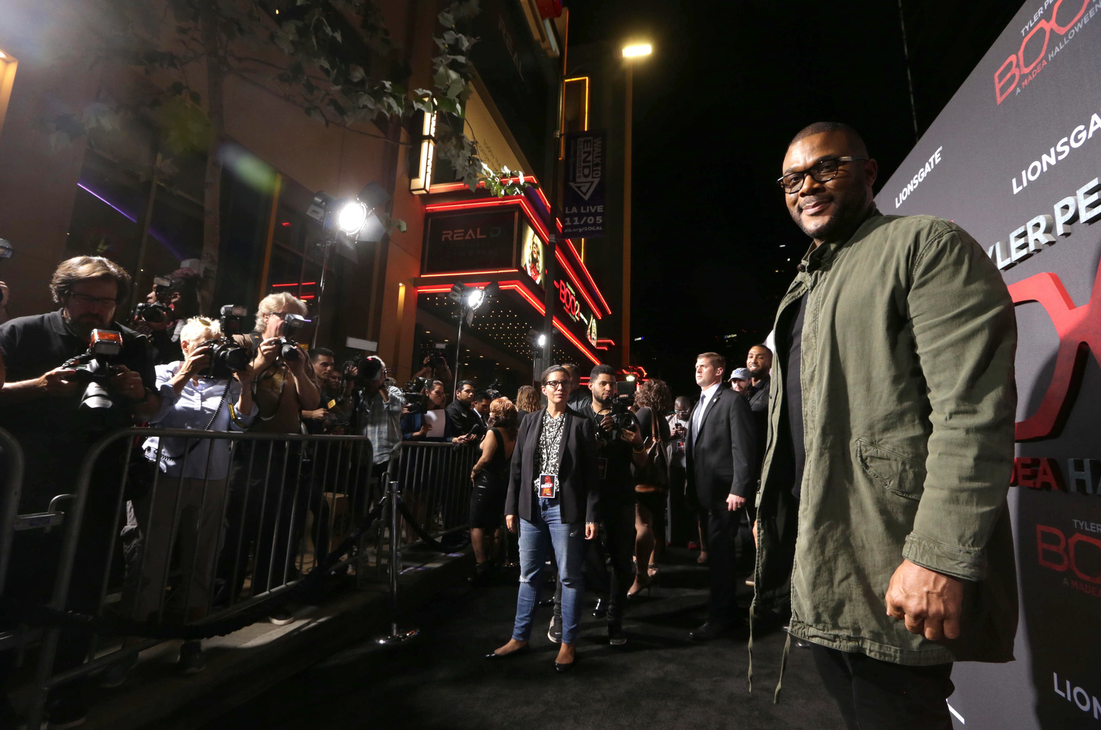 Tyler Perry » Boo2! premieres in LA with red carpet dazzle